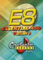 Chartbuster Essential 450 Vol. 8 Karaoke CD+G Library