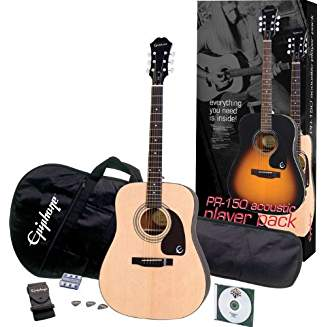 Epiphone PR-150 Acoustic Player Pack