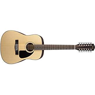 Fender CD100-12 12-String Dreadnought Acoustic Guitar