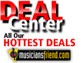 Save Up to $110 at MusiciansFriend